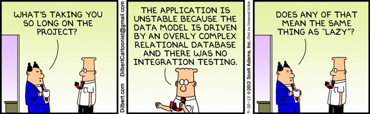 Some people are just slow! The Dilbert Strip for September 20, 2013