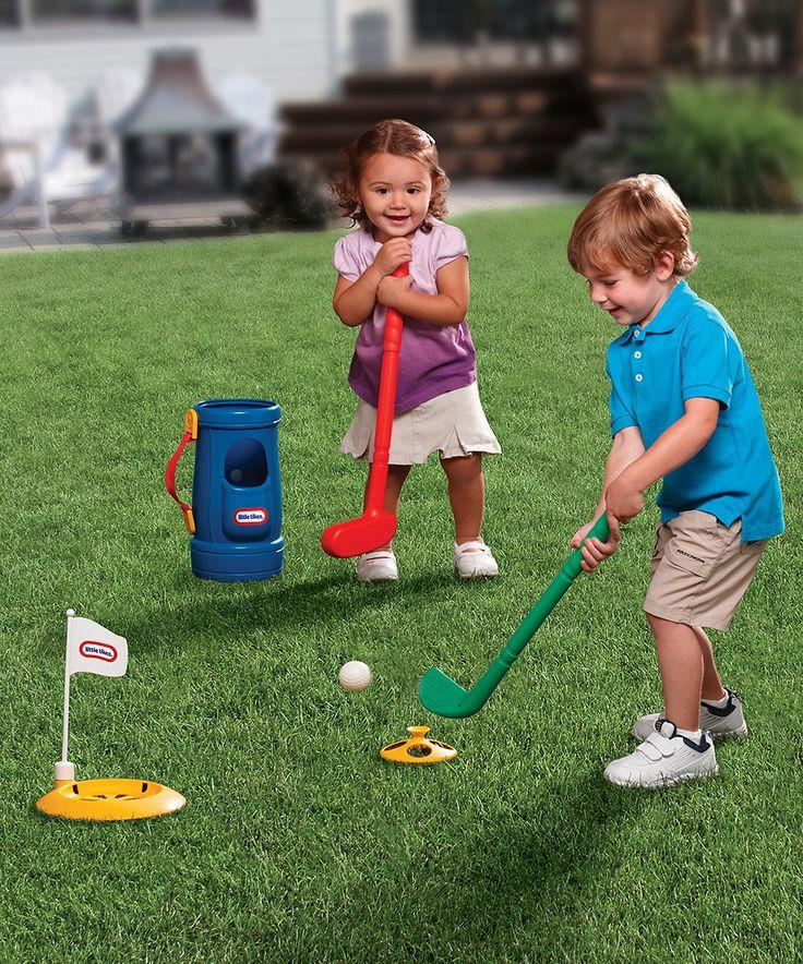 Loving this Grab 'n Go Golf Set on #zulily! #zulilyfinds