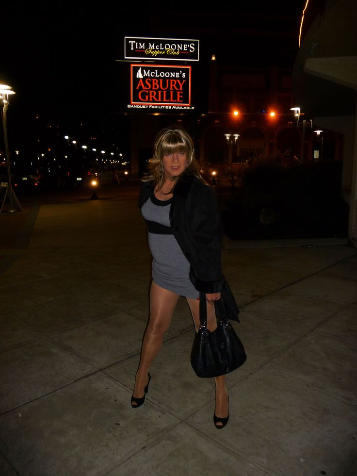 My latest picture outside a restaurant in Asbury Park, NJ ...
