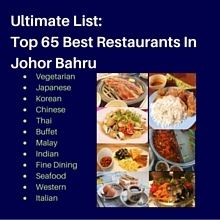 Best Restaurants in Johor Bahru