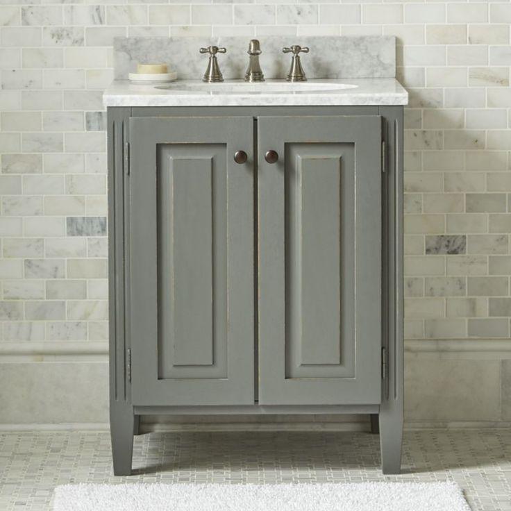 15 best bathroom redo shared boys 39 bathroom images on - Crate and barrel bathroom vanities ...