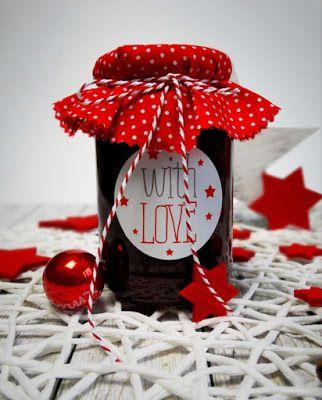Glühwein-Kirschmarmelade: Aromatisch, weihnachtlich, sehr einfach herzustellen und ist auch als selbstgemachtes Geschenk oder Mitbringsel gut geeignet.