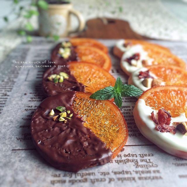 ビターで大人な味わい。オランジェットのレシピとアレンジまとめ ... http://macaro-ni.jp/31128