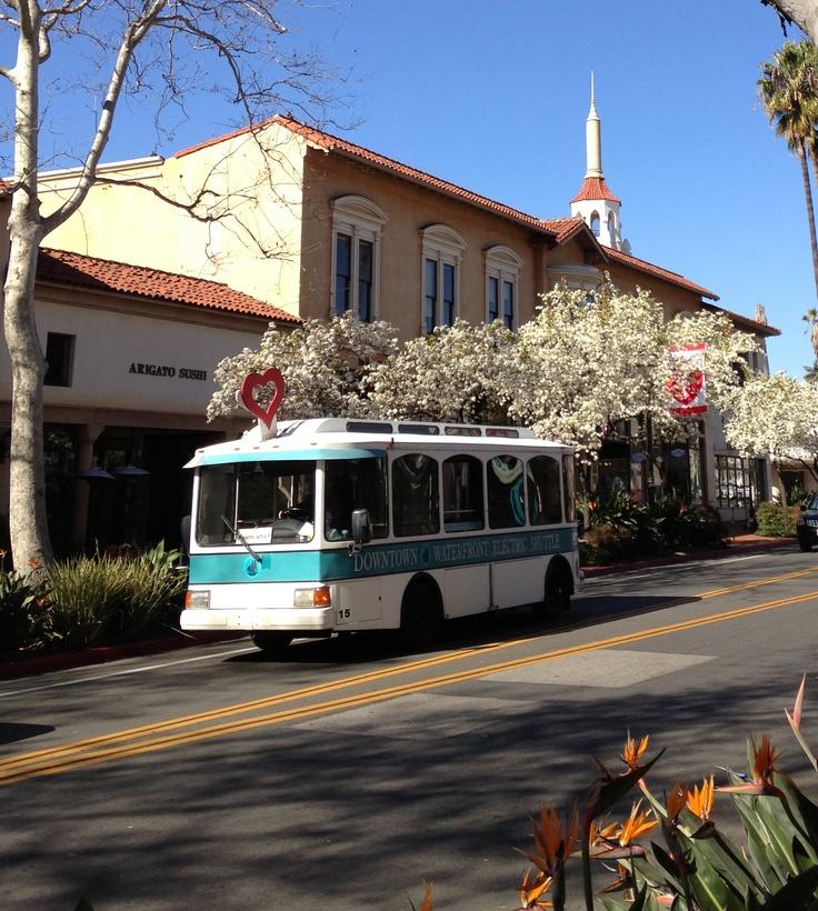 Downtown Santa Barbara - spring 2013