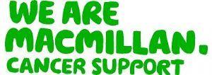 Macmillan Cancer Support 100% Charity Car Window Wall Sticker £1.50 7cm x 20cm