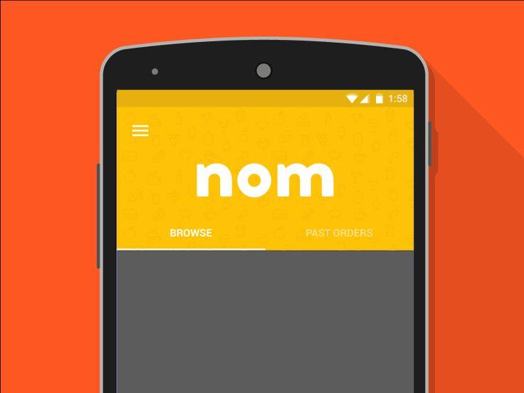 animation drop down menu android gif - Поиск в Google