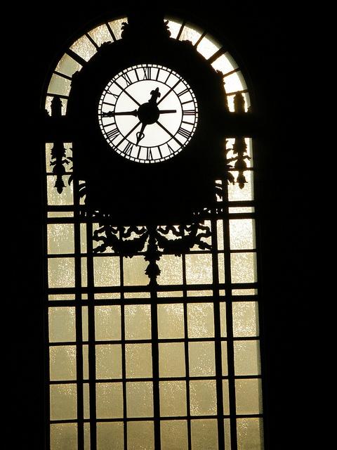 Classic Clock, Historical Hoboken Terminal