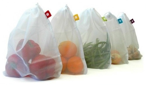 Produce Bags, Set of 5 modern food containers and storage