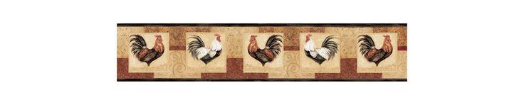 Brewster FFR65322B Neutral Rise & Shine Border Wallpaper Neutrals Home Decor Wallpaper Borders