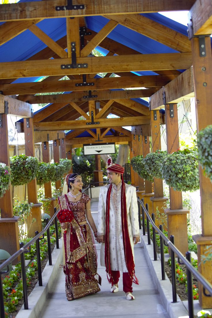 Garba: Jain Center of Southern California Hindu wedding and reception: Newport Beach Marriott Hotel & Spa Bride and Groom: Gujarati Hindu – Gujarati Jain What advice would you give to a c…
