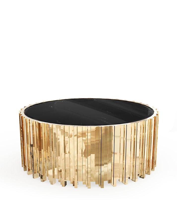 Empire Center Table | LUXXU Modern Lamps | This center table has an extravagant shape of refinement and style. #modernlamps #modernchandelier #luxurychandelier See more: http://www.luxxu.net/products/empire-center-table.php