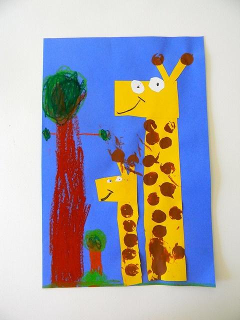 G is for Giraffe K by mermaidsandjellybeans, via Flickr