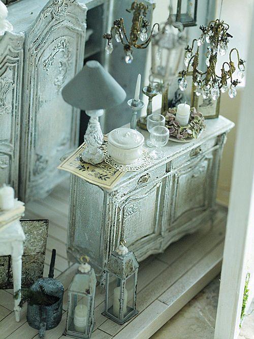 miniature* Brocanteな空間作りの画像:natural色の生活~handmade家具
