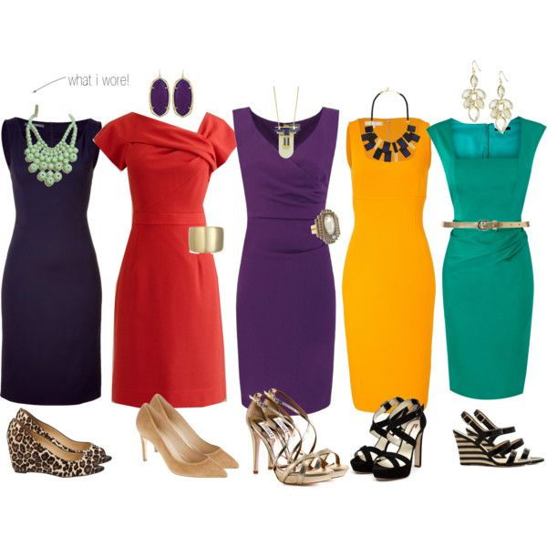 """""""best dressed guest - jewel tone dresses"""" by cardiganjunkie on Polyvore"""