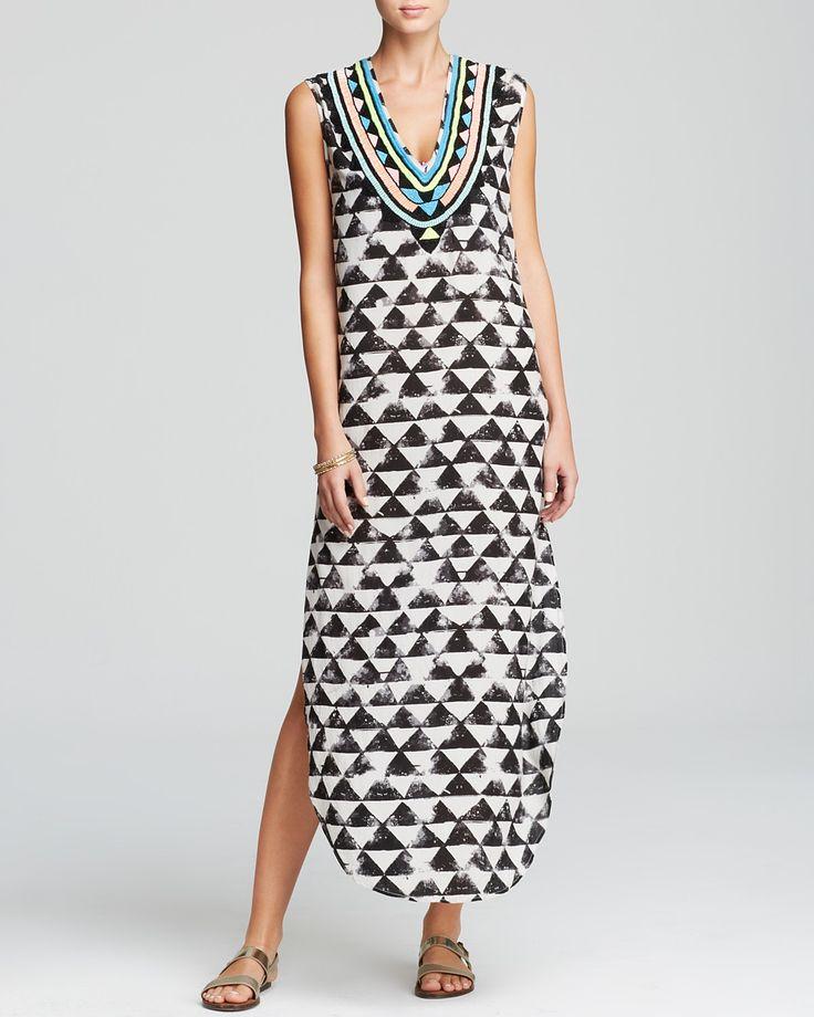 Mara Hoffman Alta Dashiki Swim Cover Up Dress | Bloomingdale's