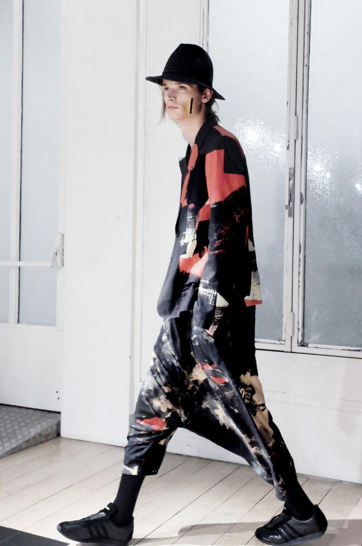 Yohji Yamamoto Pour Homme Spring / Summer 2016 ©leparadox  #fashion