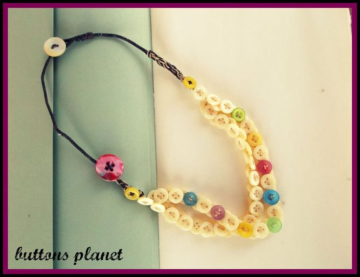 #buttons #necklace #colors #spring