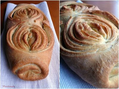 Macikonyha: Más kenyereskosarából: Pane sfogliato- Pan de Hojaldre