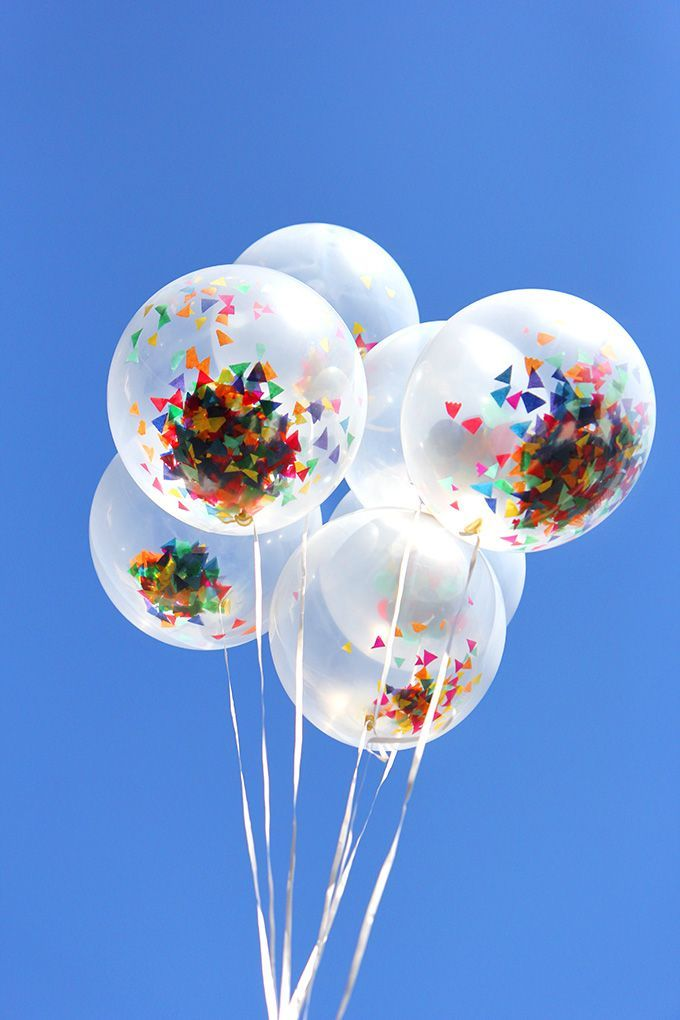 diy confetti balloons 344 best Inflation images