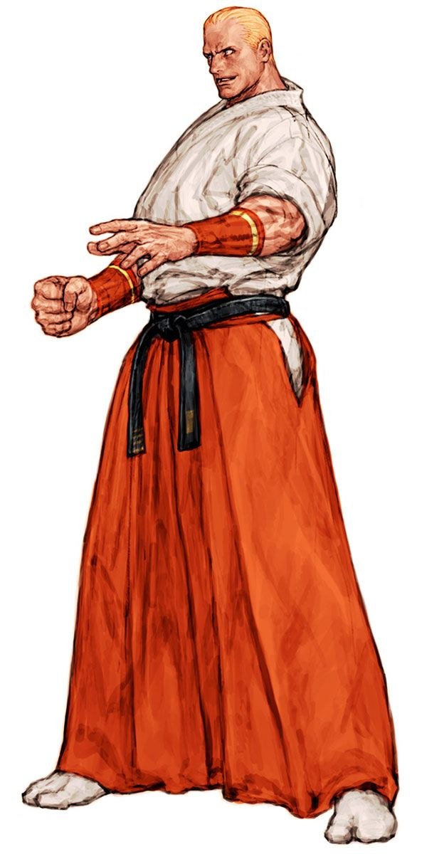 Geese Howard (Fatal Fury) - Pictures & Characters Art - Capcom vs. SNK