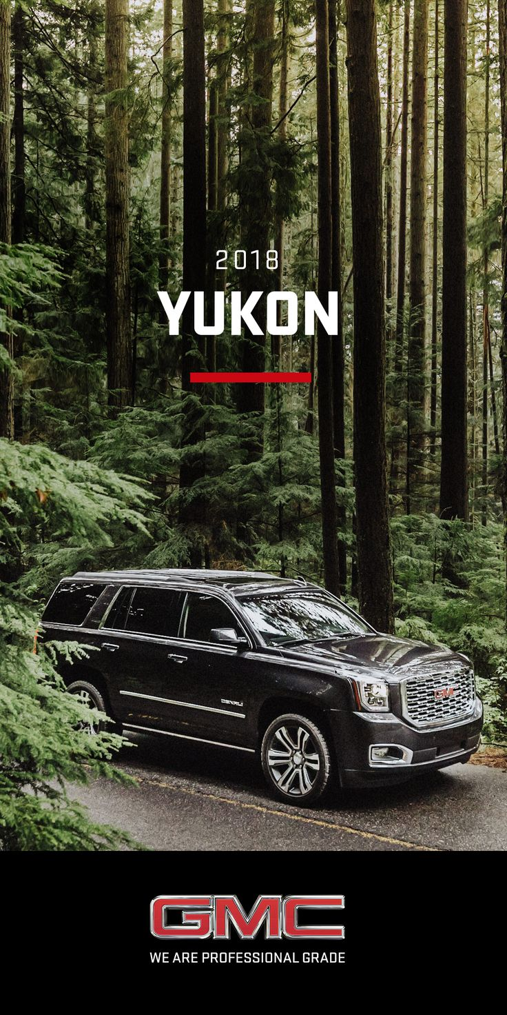 Some believe it's better to live to a higher standard. We couldn't agree more. Here's to living Like A Pro  The 2018 Yukon SUV makes a powerful impression with its confident lines and aerodynamic proportions. Bold exterior styling ques, GMC signature lighting, and refined details give the Yukon an unmistakable presence on the road, or in your driveway.
