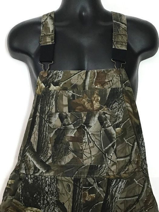 50ff3935731b0 Outfitters Ridge Realtree Camo Overalls Mens Lg 42-44 Camouflage Hunting  EUC | eBay | Southern Drawl Ebay Store | Realtree camo, Overalls, Camo