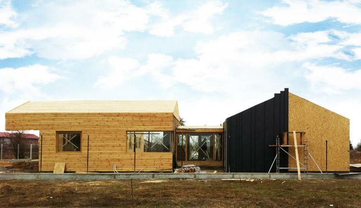 Wood house design http://www.yellowoffice.ro/projects/g-house #modern design #wood frame house