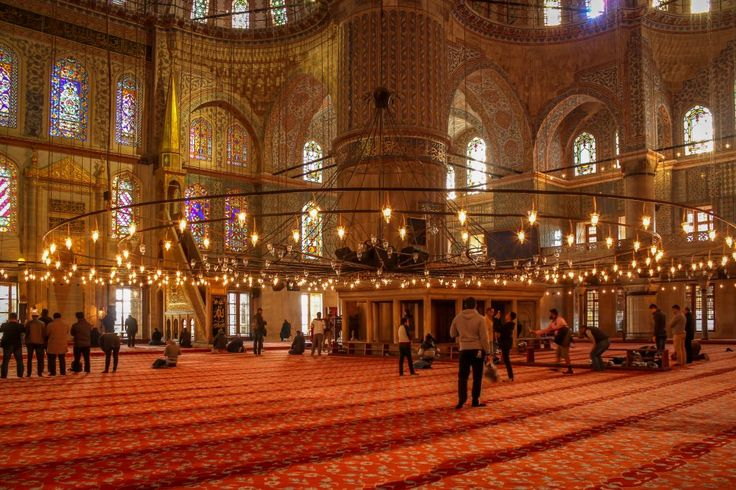Sultan Ahmed Mosque Blue Mosque Istanbul Turkey 4