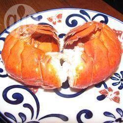 Photo de recette : Queue de homard à la vapeur