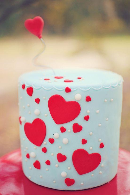 Sweet Hearts Cake.