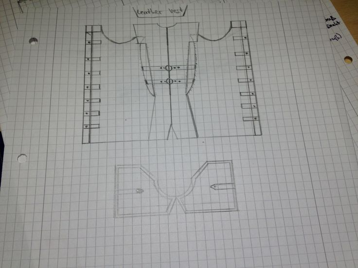 AC IV - Edward Kenway Leather Vest Template by ConnorKenwayIII.deviantart.com on @DeviantArt