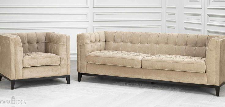 Canapele, fotolii - mobilier contemporan prin #casafoca