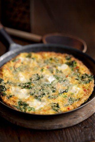 Omeleta de espinafres