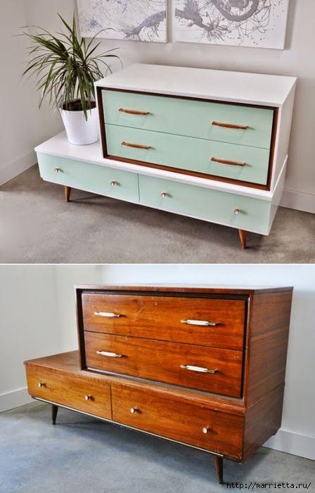Реконструкция мебели своими руками