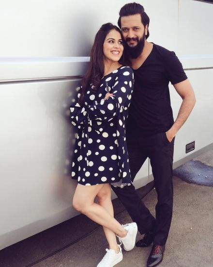 Riteish has a message for his Baiko Genelia and it's just awwww!