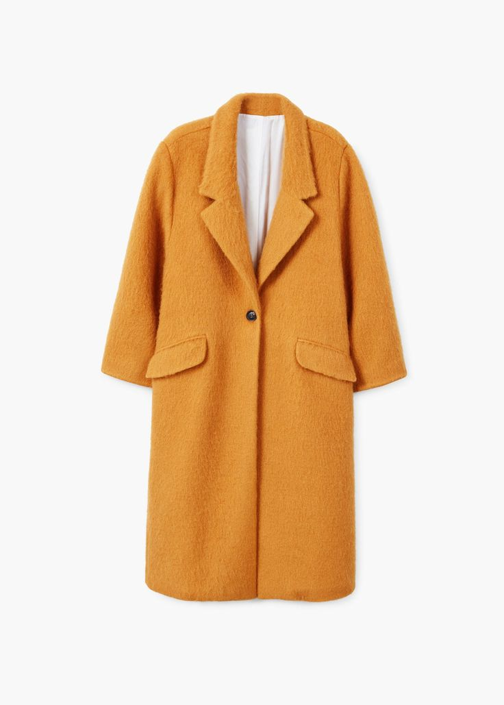 MANGO – Wool Coat | Leandra Medine x Mango