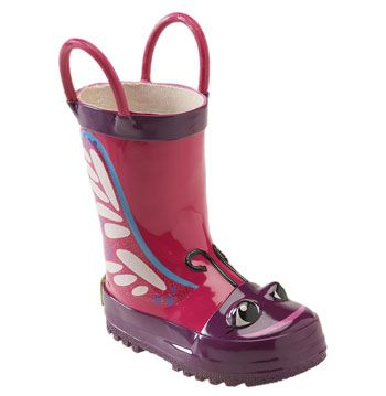 Western Chief 'Butterfly' Rain Boot (Walker, Toddler, Little Kid & Big Kid) available at #Nordstrom