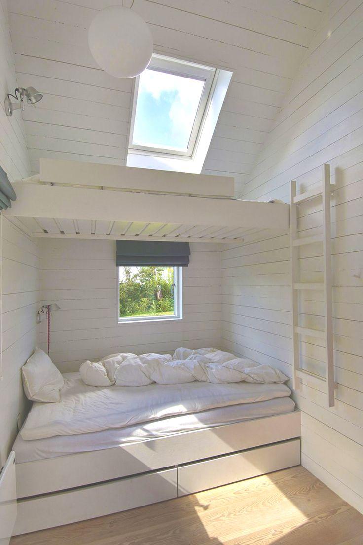 Schlafplatz in weiß