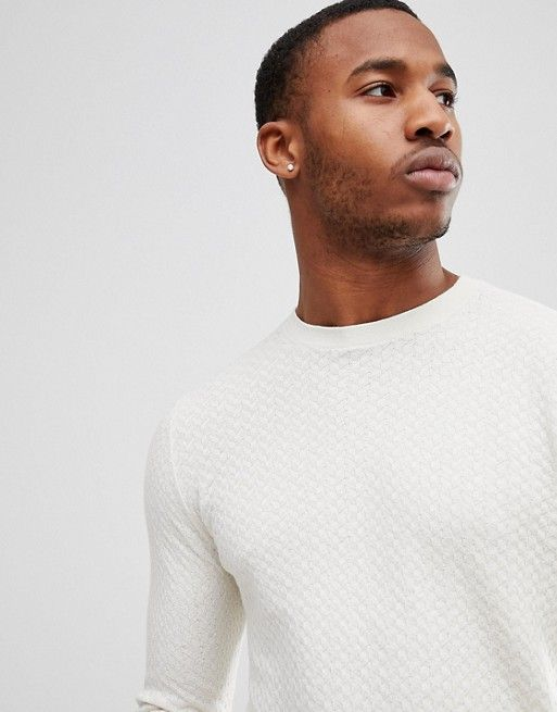 Jack   Jones Premium Crew Neck Knit in 2018   DT Wardrobe   Jack ... 439a457096