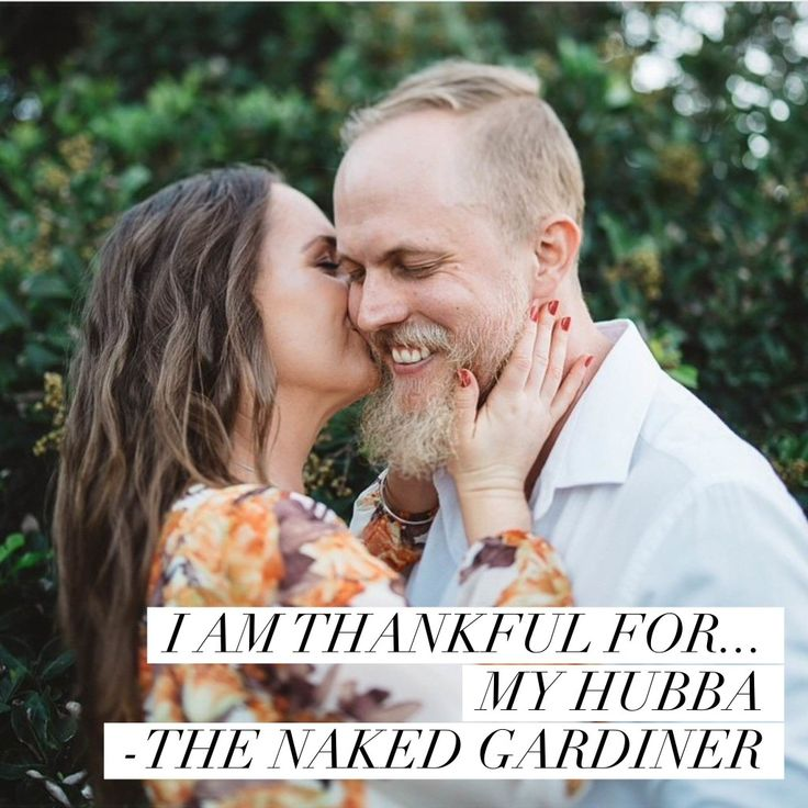 What are you thankful for? Join Kathy Gardiner, The Naked Gardiner as she shares in the act of gratitude with the world.
