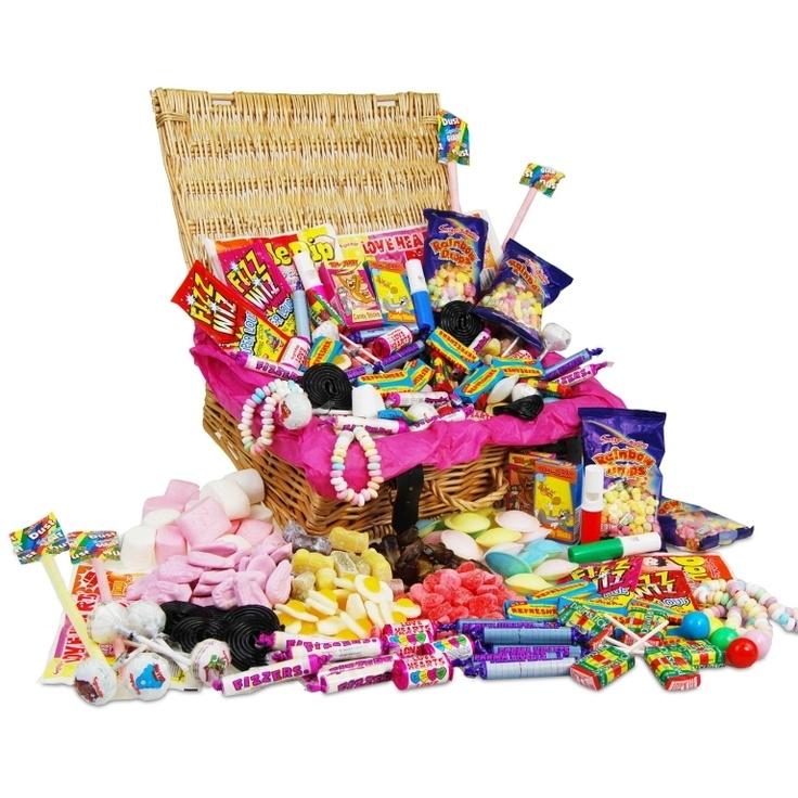 Retro Sweet Hamper £36.99 - The Wedding Gift Company