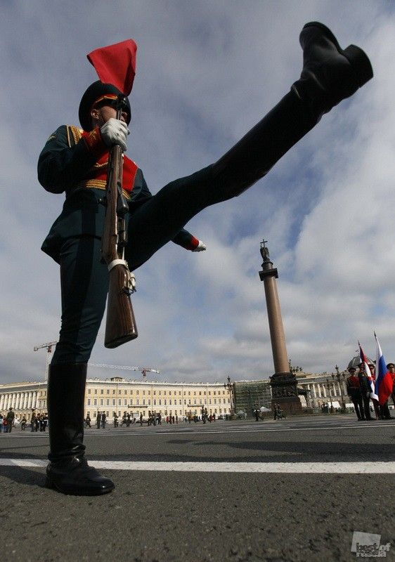 """Wider Step"" by Elena Ignatieff -- Soldier in St. Petersburg"