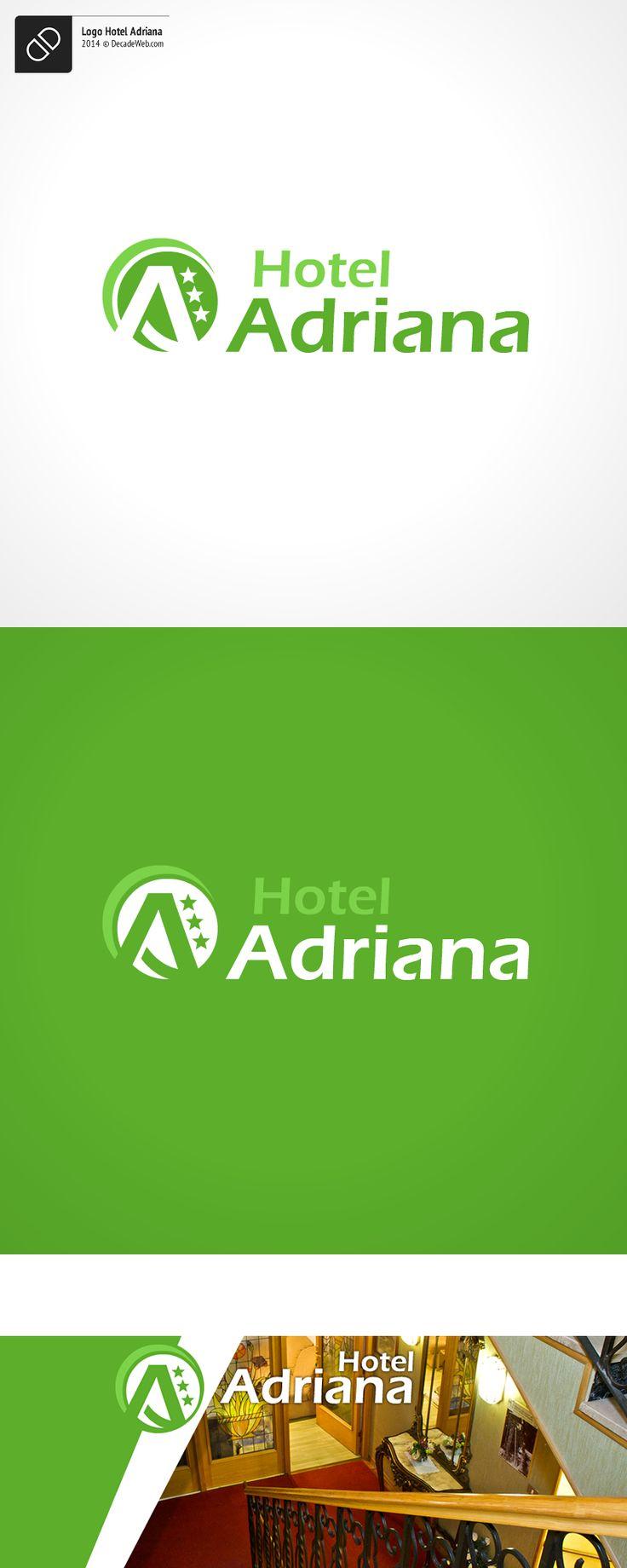 #Logo Hotel Adriana by #DecadeWeb www.decadeweb.com