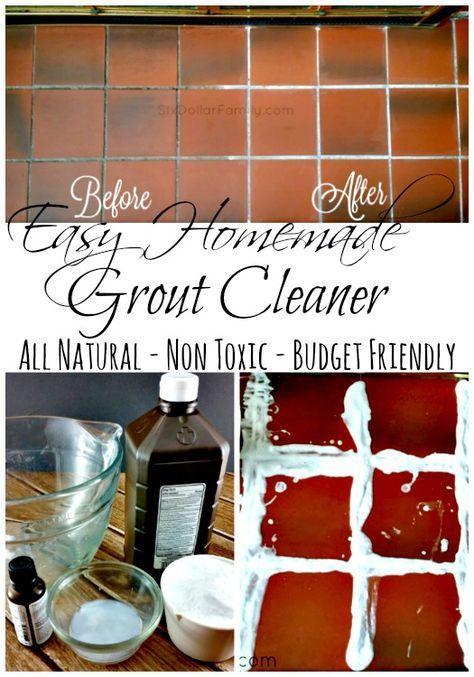 Easy Homemade Grout Cleaner Homemade Grout Cleaner
