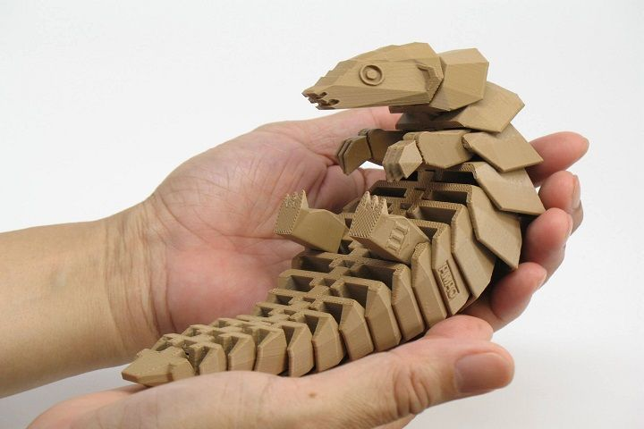3D Printable Pangolin Set to Raise Awareness of This Endangered Creature