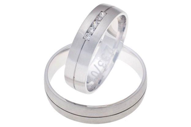 Snubní prsteny - model č. 233/02