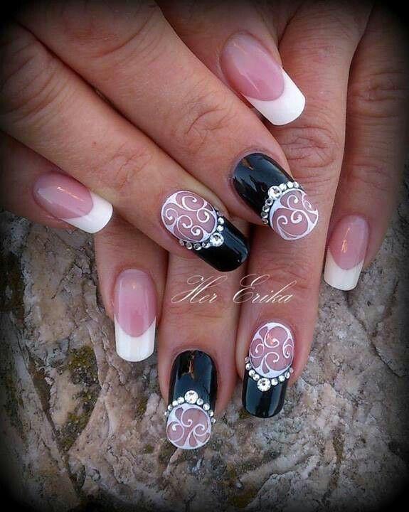 #Дизайн ногтей#френч