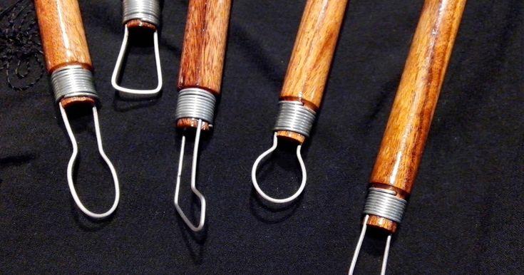 Herramientas precisas producidas en forma artesanal y completamente a mano, ideales para quitar, ahuecar y rectificar modelos en arcilla...
