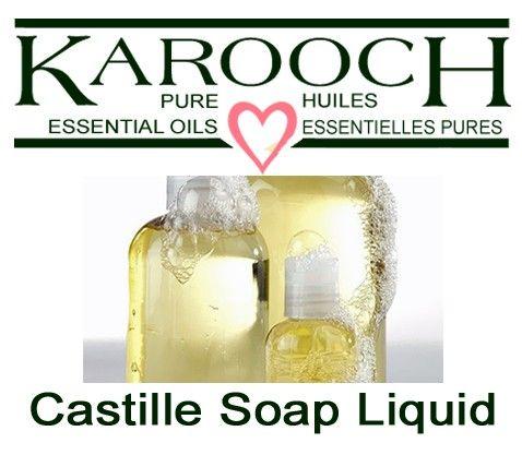 Castille Soap Liquid (made with organic oils)