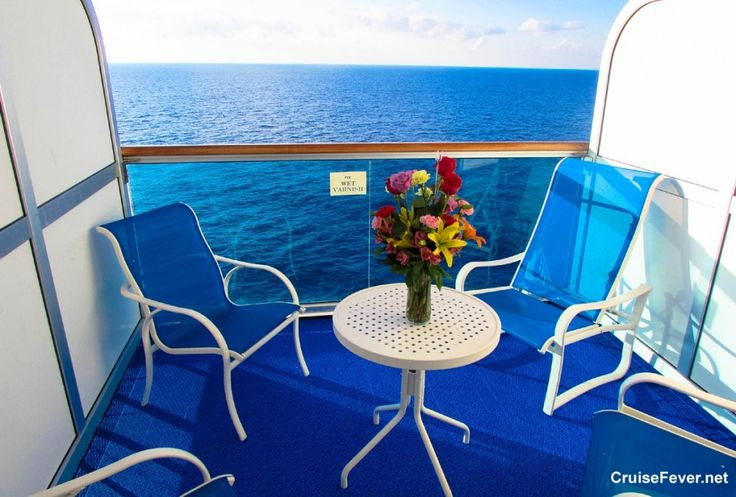 5 benefits to having a balcony cabin on your next #cruise.